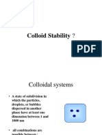 Lecture Script Polymer Sci II Colloid Stability