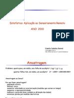 Amostragem Prof. Camilo Daleles Renno Do INPE