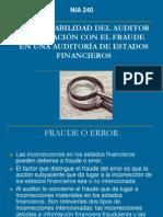 Fraude en Estados Financieros