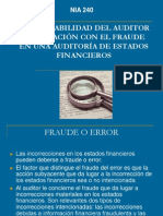 Fraude en Estados Financieros