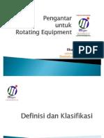 Pengantar Untuk Rotating Equipment