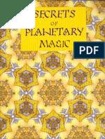 Christopher Warnock - Secrets of Planetary Magic (3rd Edition 2010)