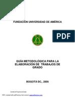 Guia Metodologica Opcion de Grado POSGRADO