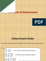 Determinant PPT.