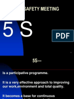 5 S uses for Training