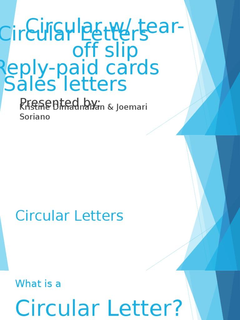 Circular letters market economics marketing altavistaventures Choice Image