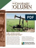The Geologic Column of Missouri - Vol 2 - Issue 1
