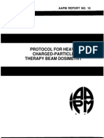 Aapm Report No. 16 Protocol for Heavy