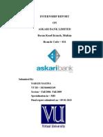 Askari Bank Report Final VU