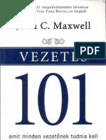 John C Maxwell - Vezetés 101
