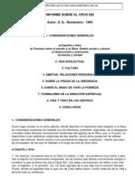 Anonimo - (Numerario Del Opus) - Informe Sobre El Opus Dei
