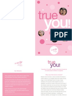 True You! Workbook for Girls