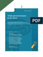 Totale genoomanalyse bij de mens