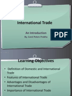 International Trade Features ppt