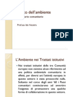 Diritto dell'ambiente_Comunitario _(1_)
