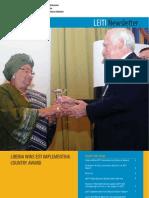 LEITI Newsletter January-April 2009
