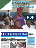 First LEITI Newsletter