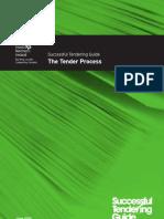 Tendering Guide - The Tender Process