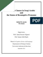 Iraqi Arabic Jassim