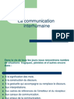 La Communication Interhumaine