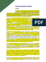 Criterios Operativos Para El Desarrollo Sostenible