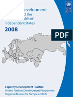 Capacity development in Europe and the CIS