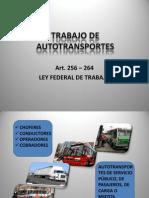 Trabajo de Autotransportes