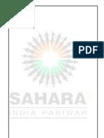 SAHARA INDIA PARIWAR summer training report