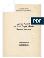 Junkers Aircraft and Aero Engine Works, Dessau, Germany