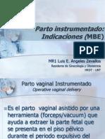 Parto Instrumentado MBE