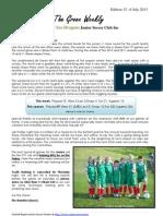 Cygnet Sea Dragons Junior Soccer Club - Saturday 6th July