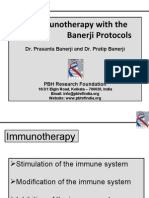 Immunotherapy With Banerji Protocol
