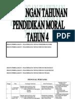 Rancangan Tahunan Pendidikan Moral Tahun 4