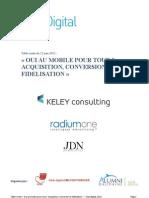 """Club Digital - Compte-rendu de la table Ronde """" OUI Au Mobile Pour TOUT ? Acquisition, Conversion, Fidélisation ? """""""