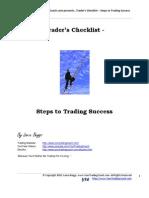 Traders Checklist