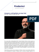 Iatrogenia y Antifragilidad Por Jorge Volpi