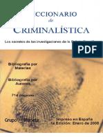 Diccionario Criminalística