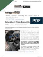 3.7.2013, 'ITALIAN LIBERTY Photo Competition', Floornature