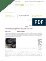 21.6.2013, 'Concorso Fotografico ITALIAN LIBERTY', GAI Giovani Artisti Italiani