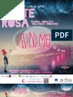 Giugno 2013, 'Cervia - Il Novecento Di Matteo Focaccia, Magazzini Del Sale', Programma Generale La Notte Rosa