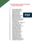Listado Definitivo de Admitidos y Reserva de Comedor Escolar Curso 2013