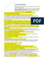 Storia e Politica Monetaria PDF