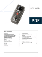 Tc Ditto Looper Manual French
