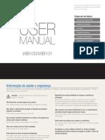 Câmera Digital Samsung WB100 - Manual