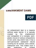 Embankment Dams Ppt