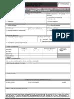 DAC Formulario Declaracion Ingredientes Emisiones Tabaco