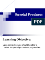 1.6 Special Products and Factoring