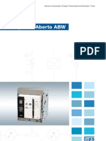 WEG Disjuntores Abertos Abw 50011456 Catalogo Portugues Br