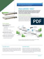 Accedian Networks MetroNODE 10GE 2pg - FINAL - 083112