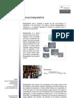 Testing Biodegradability